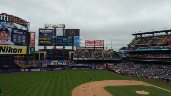 Citi Field, section: 328, row: 2, seat: 17