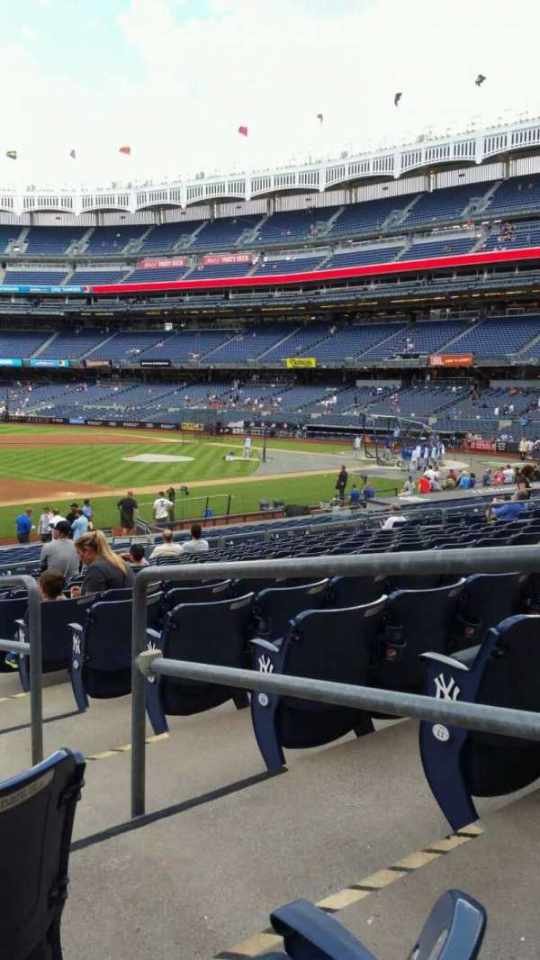 Yankee Stadium, section: 127A, row: 13, seat: 2