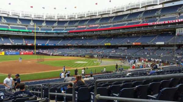 Yankee Stadium, section: 127A, row: 13, seat: 3