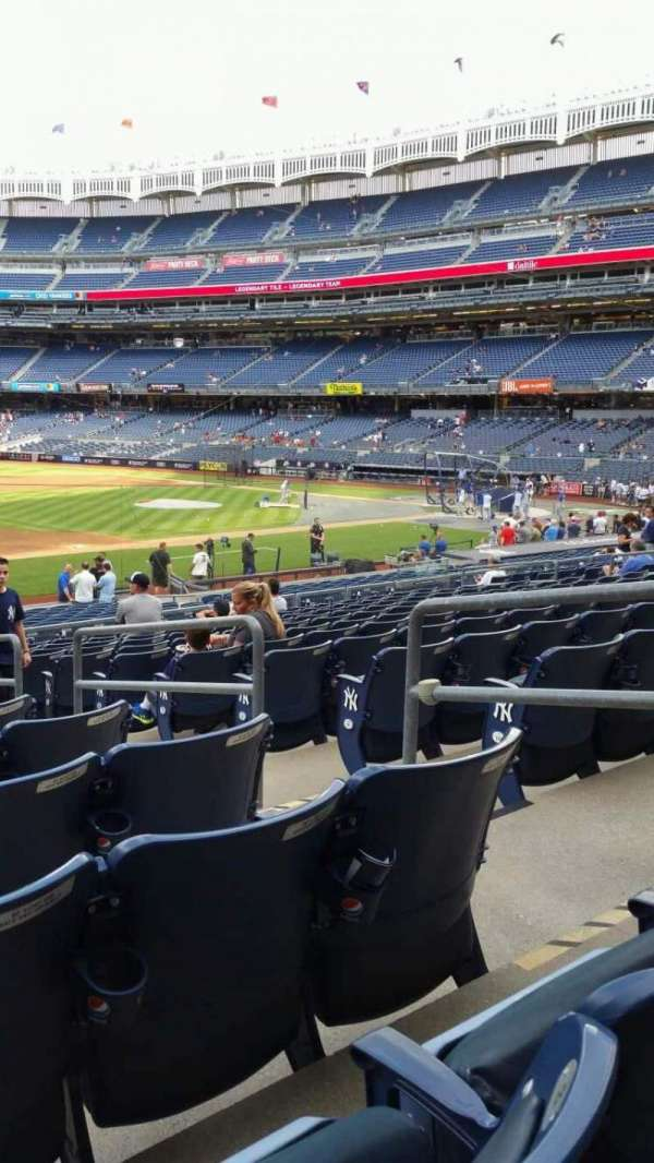 Yankee Stadium, section: 127A, row: 13, seat: 4