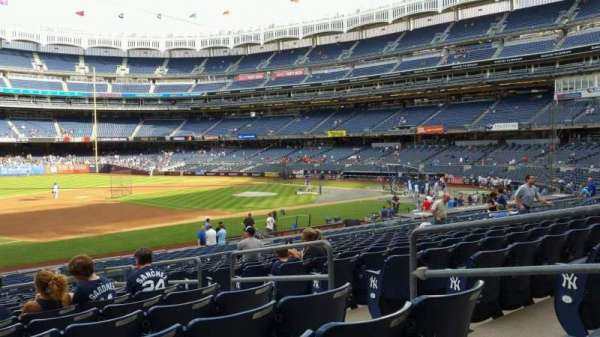 Yankee Stadium, section: 127A, row: 13, seat: 5