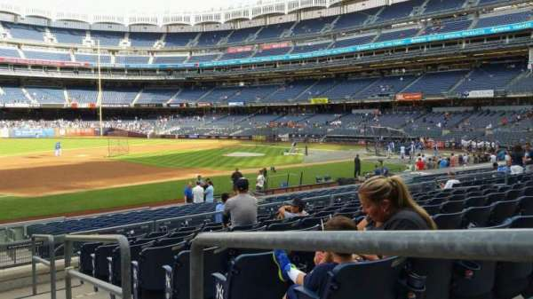 Yankee Stadium, section: 127A, row: 9, seat: 1