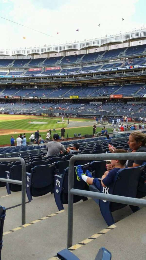 Yankee Stadium, section: 127A, row: 9, seat: 2
