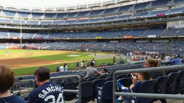 Yankee Stadium, section: 127A, row: 9, seat: 3