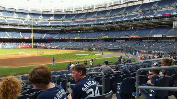 Yankee Stadium, section: 127A, row: 9, seat: 4
