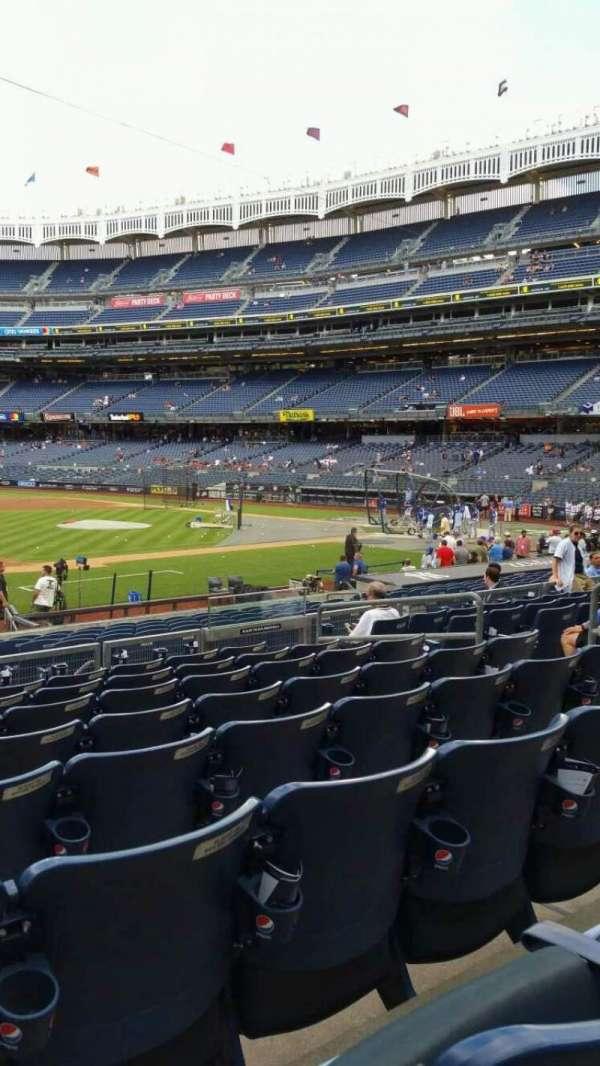 Yankee Stadium, section: 126, row: 8, seat: 10