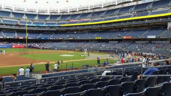 Yankee Stadium, section: 126, row: 8, seat: 9
