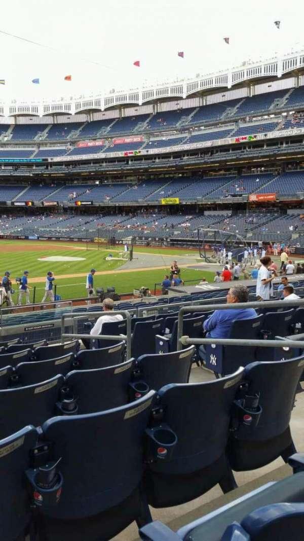 Yankee Stadium, section: 126, row: 8, seat: 5