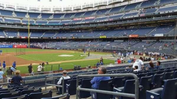 Yankee Stadium, section: 126, row: 8, seat: 3