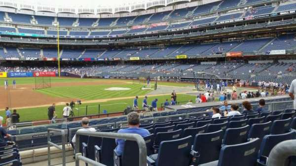 Yankee Stadium, section: 126, row: 8, seat: 1