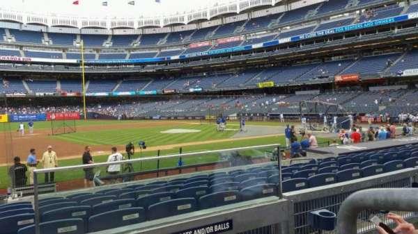 Yankee Stadium, section: 126, row: 2, seat: 1