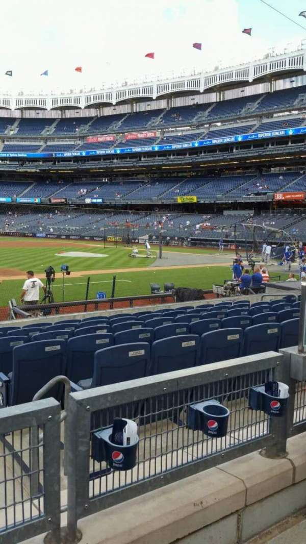 Yankee Stadium, section: 126, row: 2, seat: 4