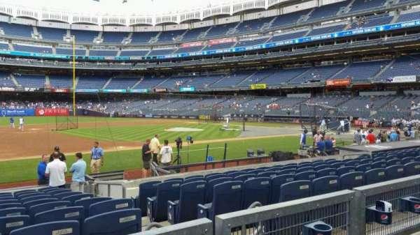 Yankee Stadium, section: 126, row: 2, seat: 7