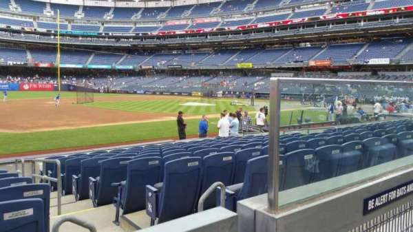 Yankee Stadium, section: 127A, row: 1, seat: 2