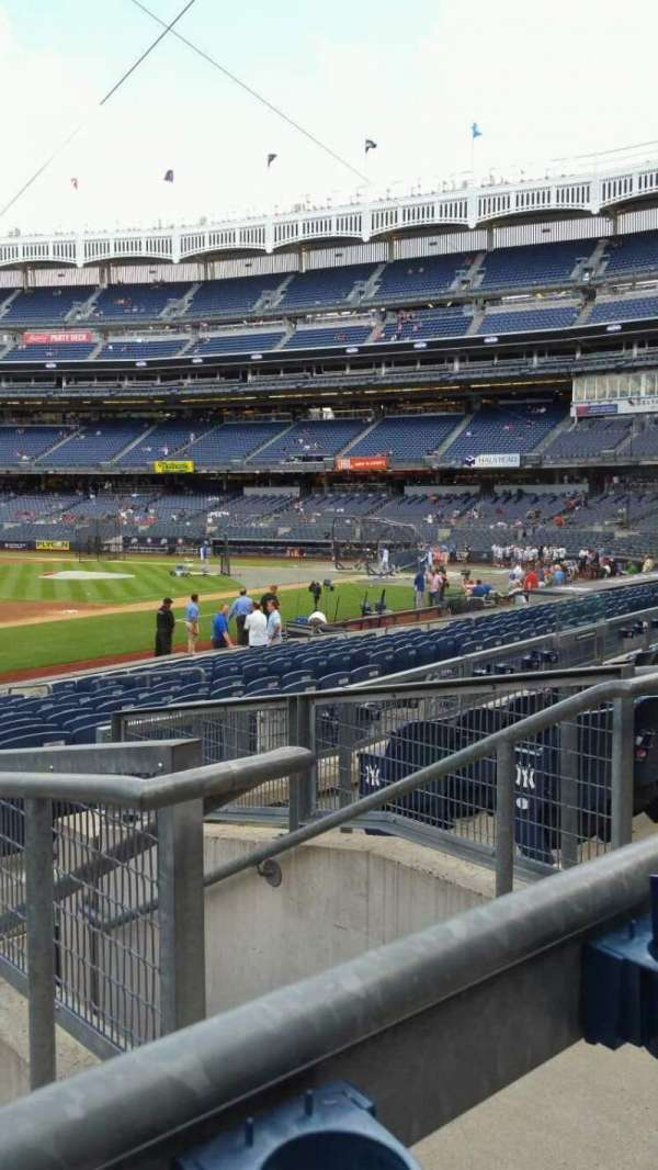 Yankee Stadium, section: 127B, row: 5, seat: 3