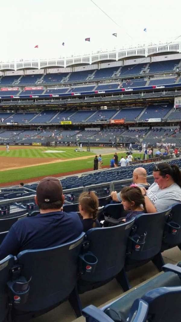 Yankee Stadium, section: 127B, row: 5, seat: 13