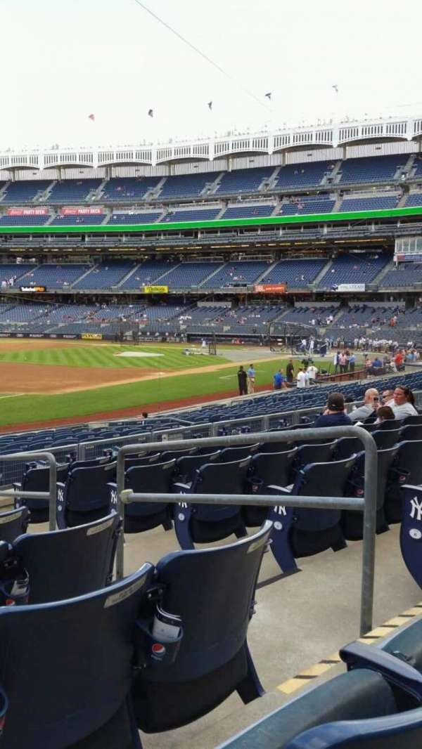 Yankee Stadium, section: 128, row: 8, seat: 4