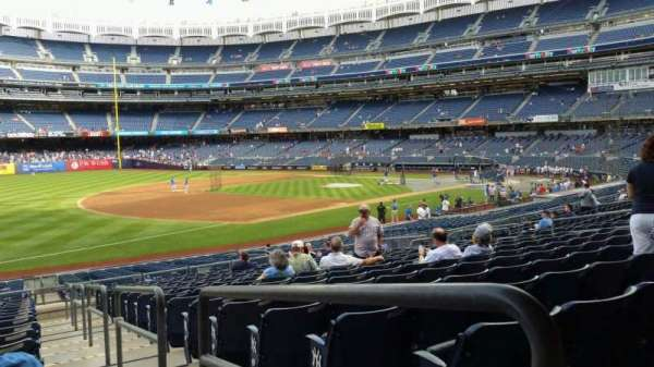 Yankee Stadium, section: 128, row: 16, seat: 1