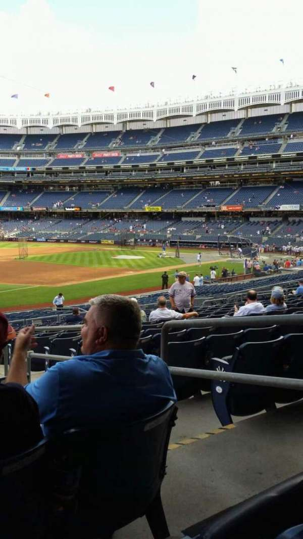 Yankee Stadium, section: 128, row: 16, seat: 3