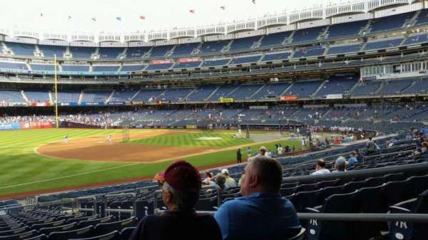 Yankee Stadium, section: 128, row: 16, seat: 4