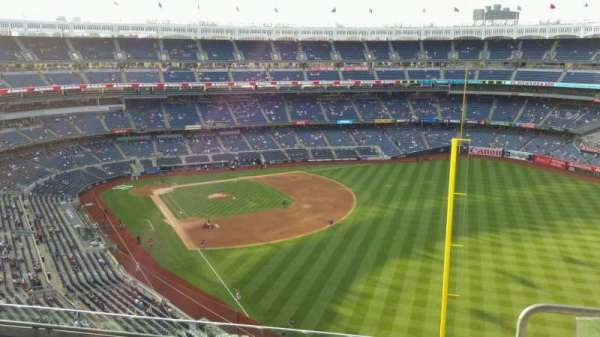 Yankee Stadium, section: 408, row: 5, seat: 3