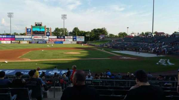 TD Bank Ballpark, section: 210, row: Q, seat: 17