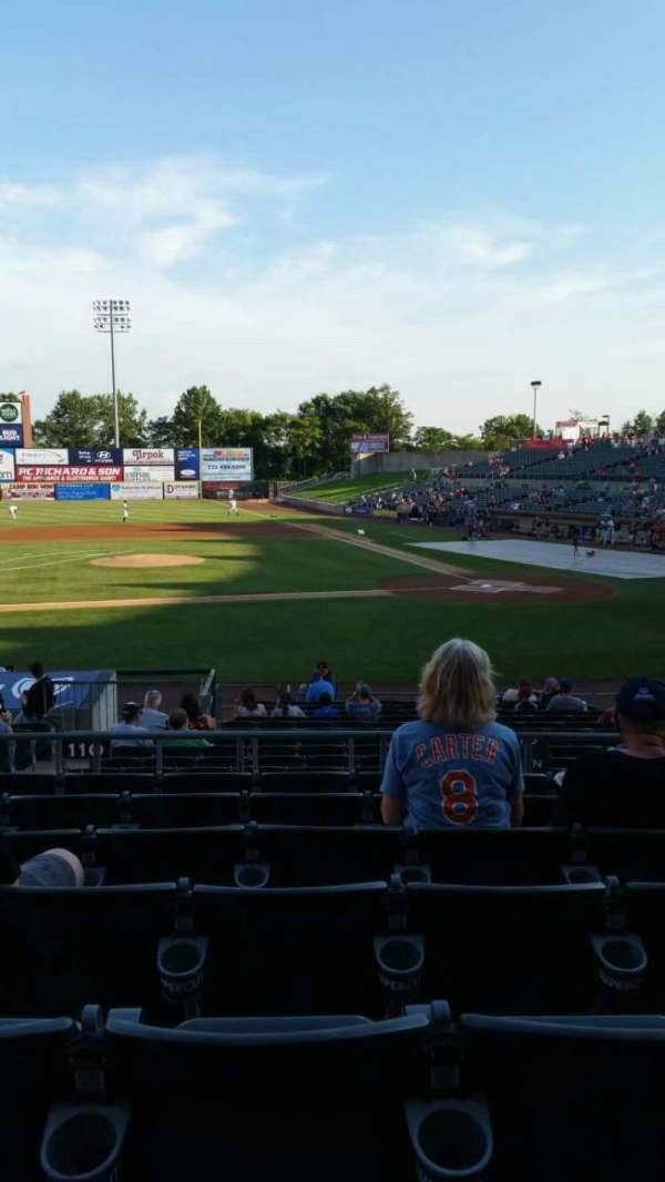 TD Bank Ballpark, section: 210, row: Q, seat: 13