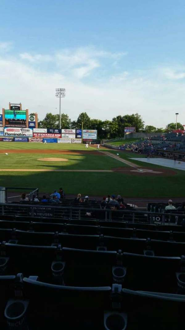 TD Bank Ballpark, section: 210, row: Q, seat: 5
