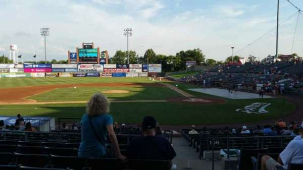 TD Bank Ballpark, section: 210, row: Q, seat: 1