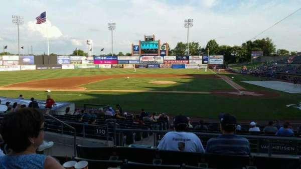 TD Bank Ballpark, section: 208, row: O, seat: 12