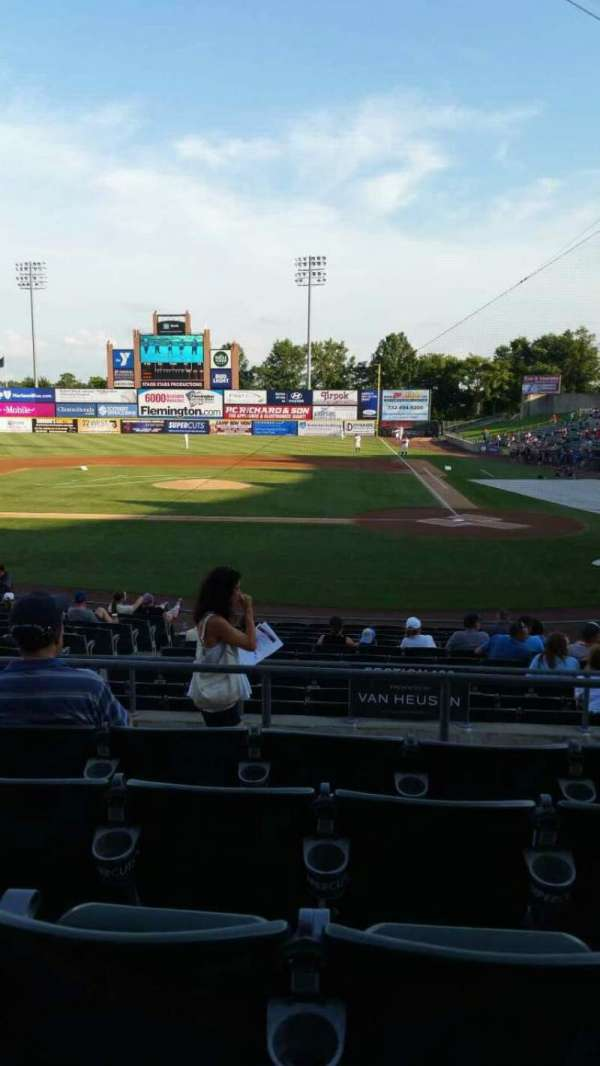TD Bank Ballpark, section: 208, row: O, seat: 9