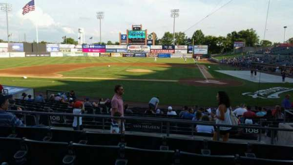 TD Bank Ballpark, section: 208, row: O, seat: 6