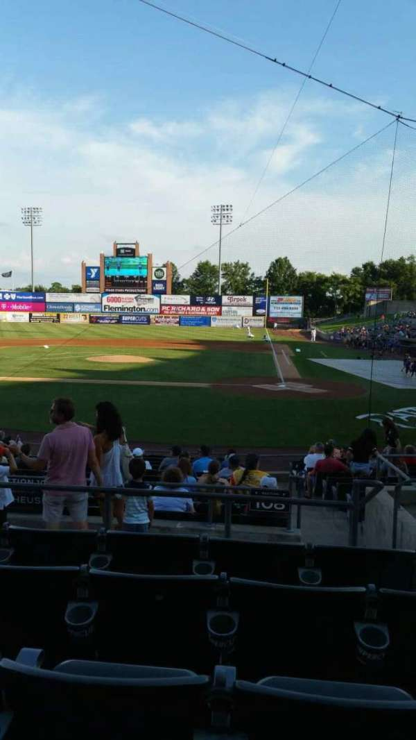 TD Bank Ballpark, section: 208, row: O, seat: 3