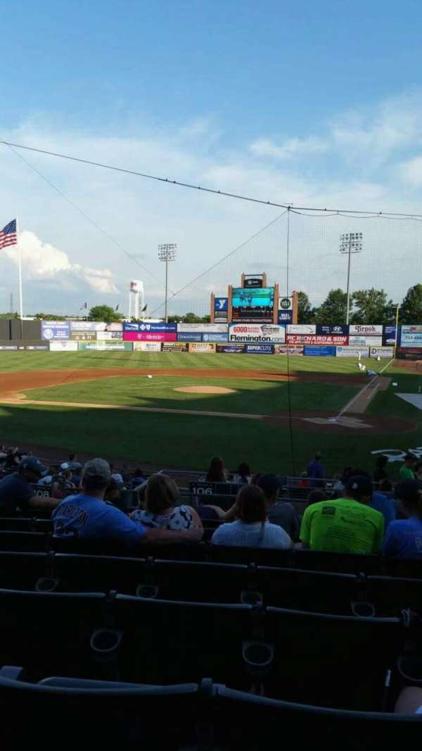 TD Bank Ballpark, section: 206, row: S, seat: 10