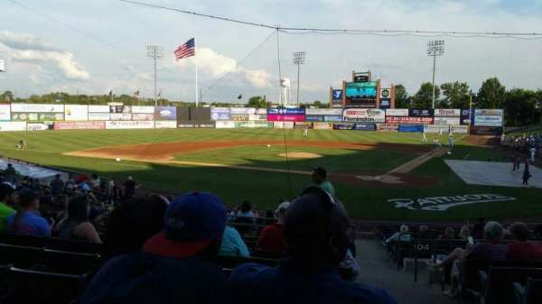 TD Bank Ballpark, section: 206, row: S, seat: 1
