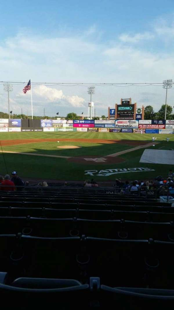 TD Bank Ballpark, section: 204, row: U, seat: 5