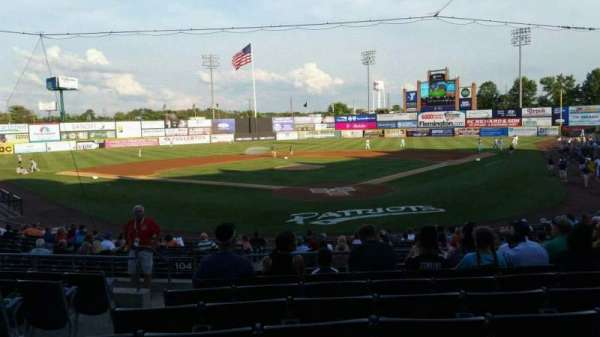 TD Bank Ballpark, section: 202, row: R, seat: 14