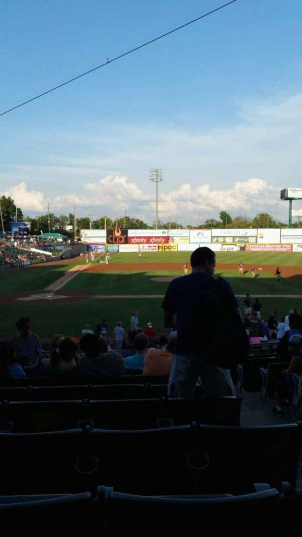 TD Bank Ballpark, section: 207, row: T, seat: 3