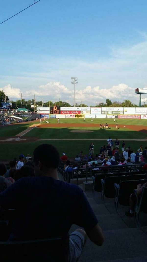 TD Bank Ballpark, section: 207, row: R, seat: 1