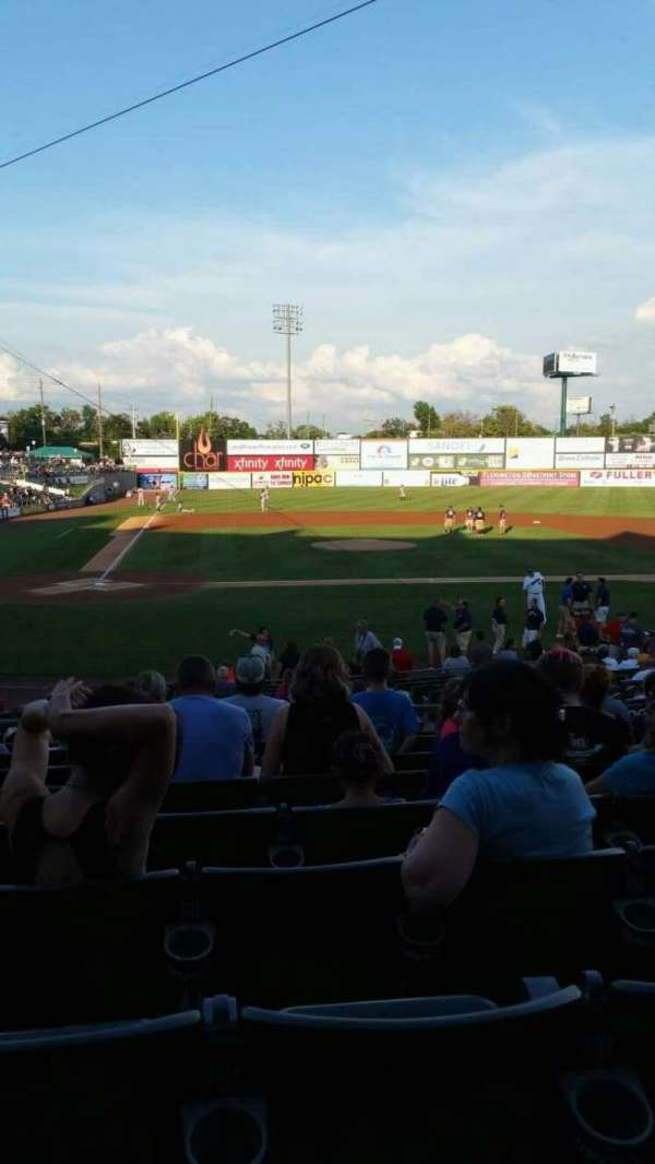 TD Bank Ballpark, section: 207, row: R, seat: 8
