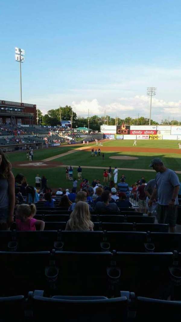TD Bank Ballpark, section: 209, row: V, seat: 3