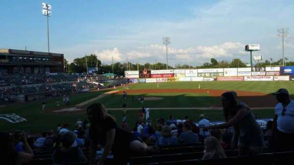 TD Bank Ballpark, section: 209, row: V, seat: 6