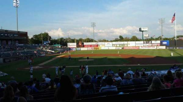 TD Bank Ballpark, section: 209, row: V, seat: 9