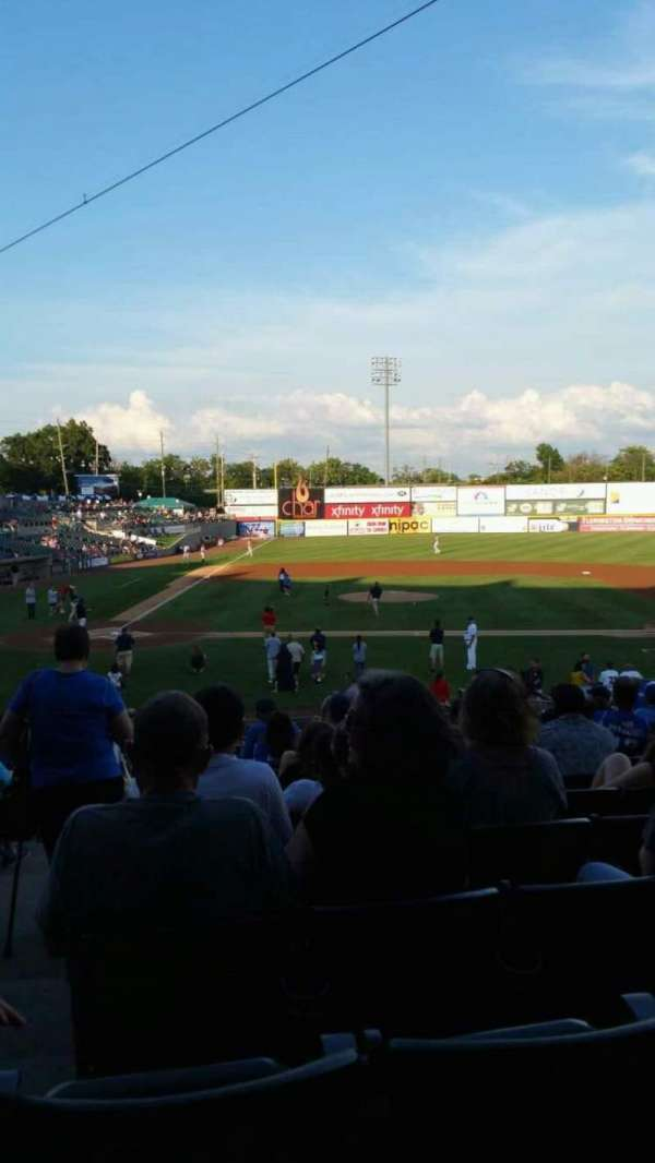 TD Bank Ballpark, section: 209, row: V, seat: 18