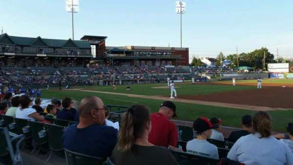 TD Bank Ballpark, section: 119, row: I, seat: 7