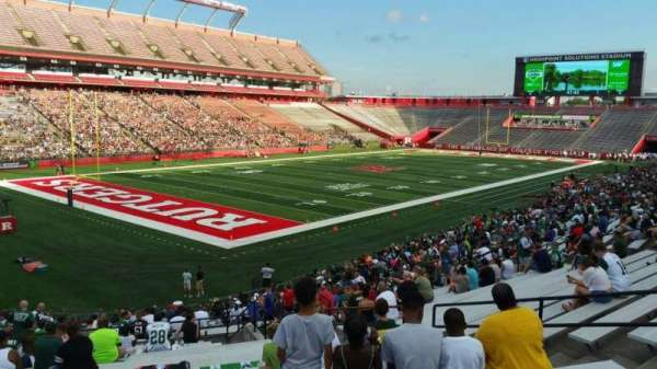 High Point Solutions Stadium, section: 111, row: 30, seat: 10