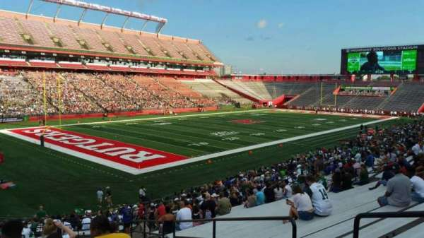 High Point Solutions Stadium, section: 111, row: 30, seat: 4