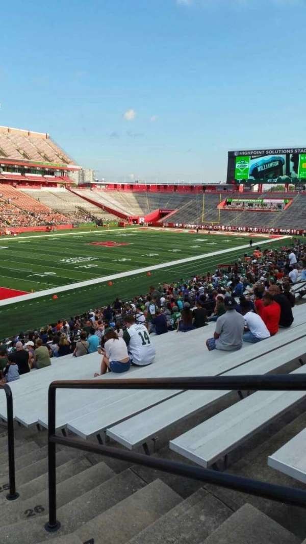 High Point Solutions Stadium, section: 111, row: 30, seat: 1