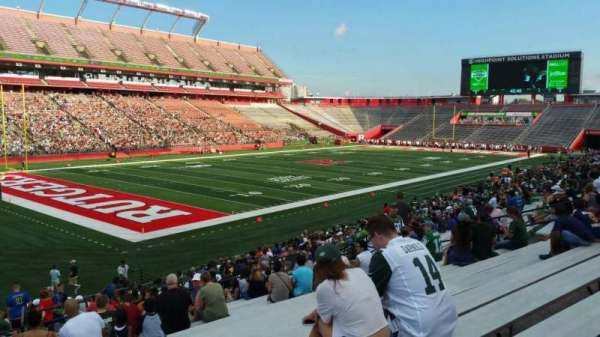 High Point Solutions Stadium, section: 110, row: 25, seat: 26
