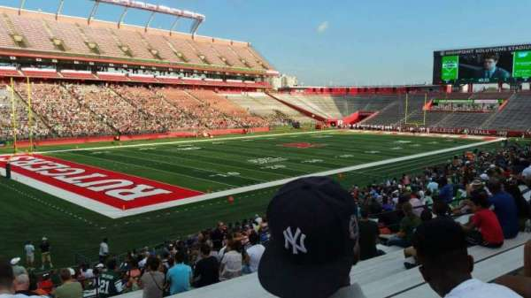 High Point Solutions Stadium, section: 110, row: 25, seat: 19